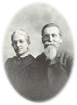 "John Musser Martin and Elizabeth ""Lizzie"" Barkdoll, married after the Civil War."